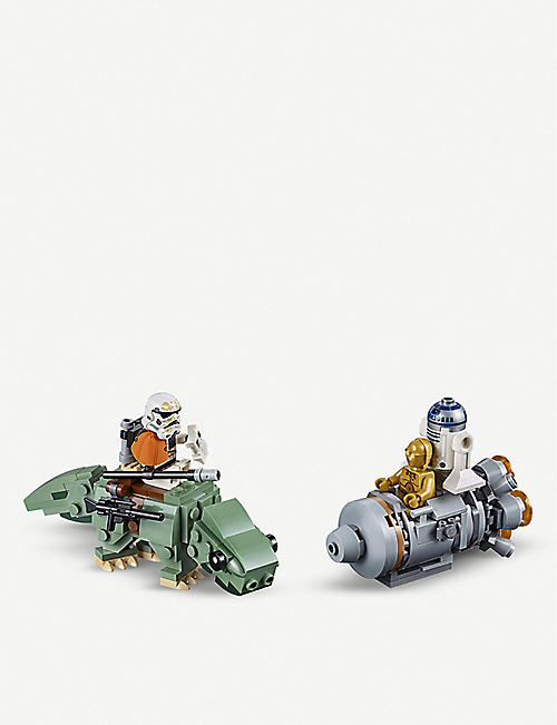 LEGO Star Wars™ Escape Pod vs. Dewback Microfighters dual set