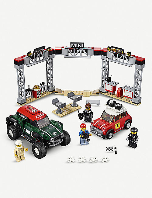 LEGO Speed Champions 1967 Mini Cooper S Rally and 2018 MINI John Cooper Works Buggy set