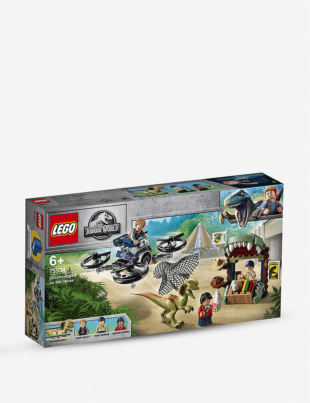 LEGO: LEGO® Jurassic World Dilophosaurus on the Loose