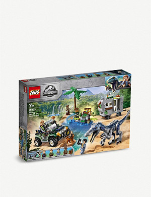 LEGO LEGO® Jurassic World Baryonyx Face-Off: The Treasure Hunt
