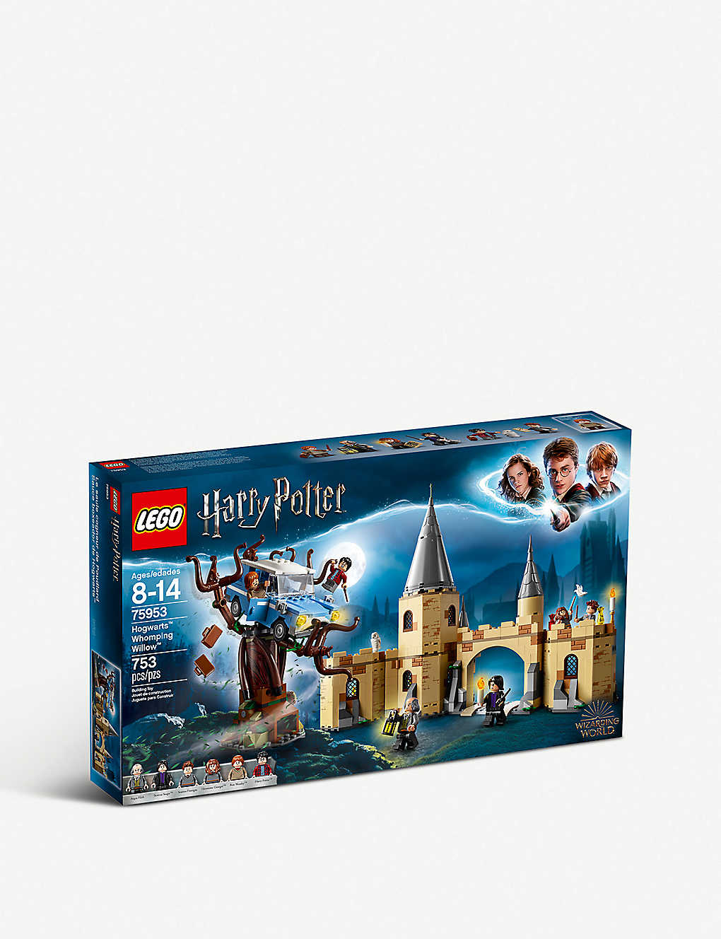 New Lego Harry Potter Hogwarts Whomping Willow Building Set 75953 NEW