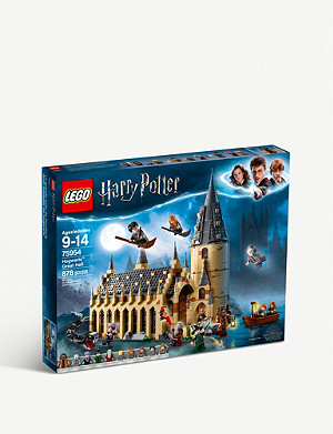 LEGO LEGO? Harry Potter 75954 Hogwarts Great Hall set 9+ years