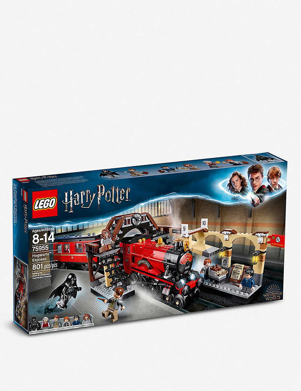 Lego harry potter train set