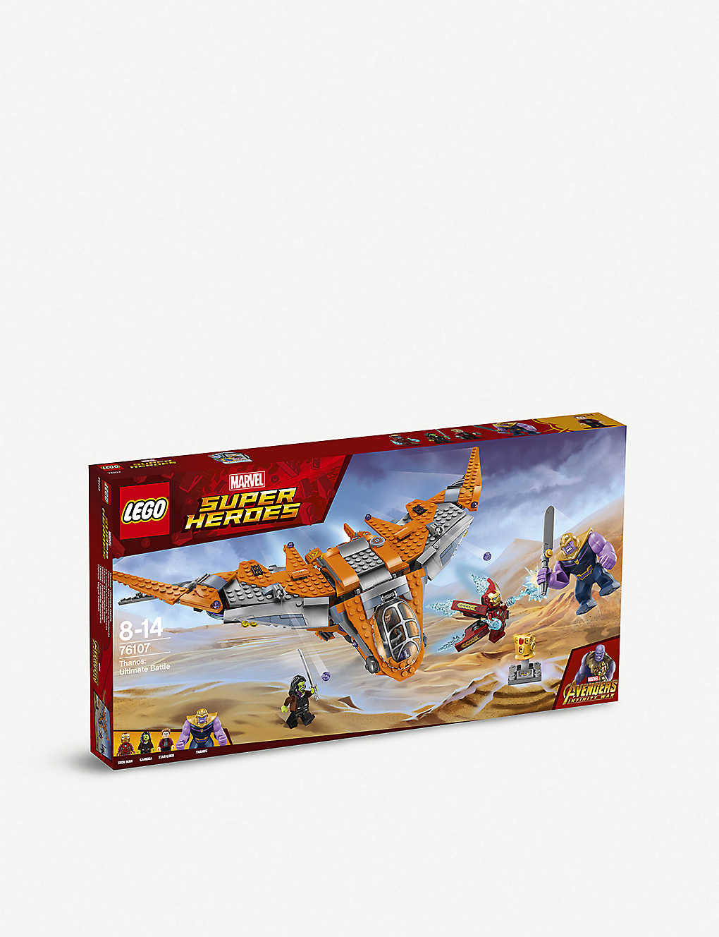 LEGO - 76107 Marvel Super Heroes: Avengers Thanos Ultimate