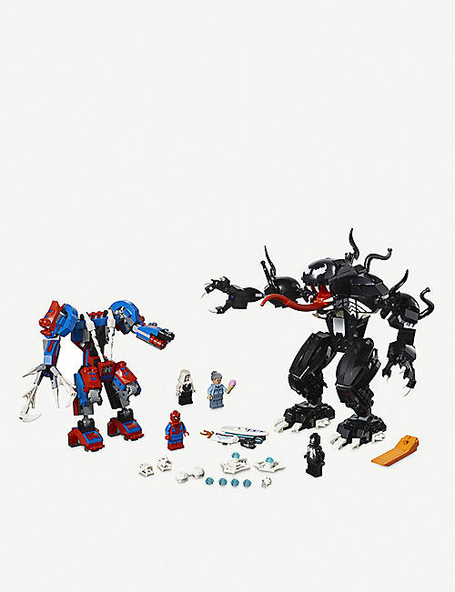 LEGO Marvel Super Heroes Spiderman Spider Mech vs. Venom play set