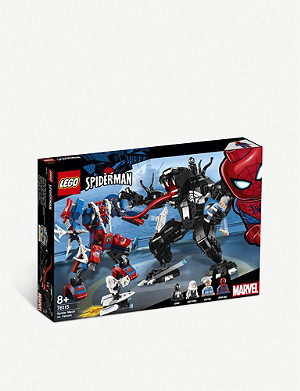 LEGO LEGO® Marvel Super Heroes Spiderman Spider Mech vs. Venom play set