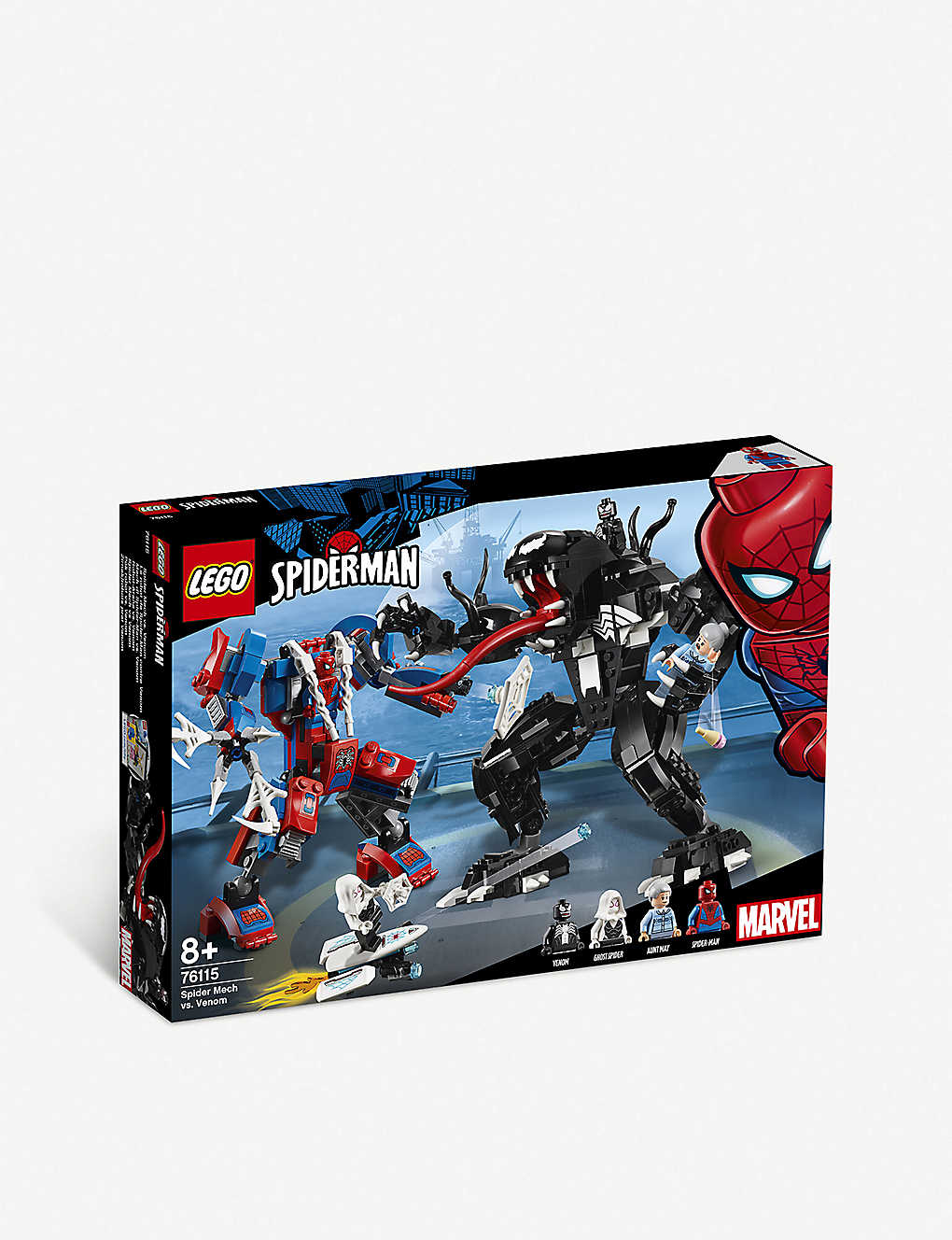 0cec9f1cb LEGO - Marvel Super Heroes Spiderman Spider Mech vs. Venom play set ...
