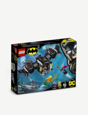 LEGO Batman™ Batsub and the Underwater Clash set