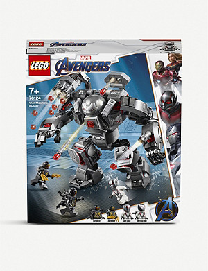 LEGO LEGO® 76124 Marvel Superheroes War Machine Buster set