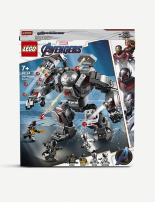 LEGO 76124 Marvel Superheroes War Machine Buster set