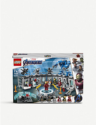LEGO: 76125 Marvel Superheroes Iron Man Hall of Armor set