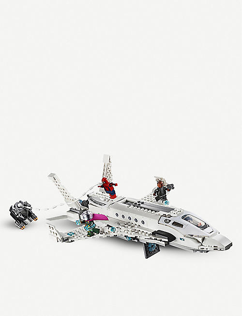 LEGO LEGO® Marvel Spider-Man: Far From Home Stark Jet and Drone Attack set