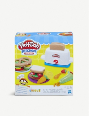 PLAYDOH Kitchen Creations toaster set