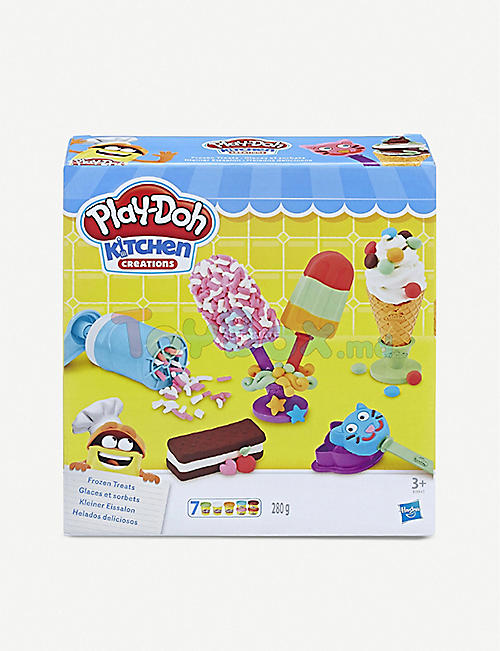 PLAYDOH Kitchen Creations Frozen Treats modelling clay set