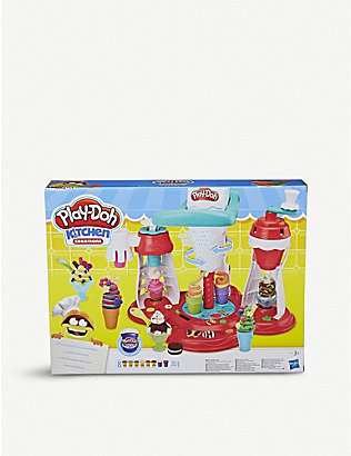 PLAYDOH: Kitchen Creations Ultimate Swirl ice cream maker modelling clay set