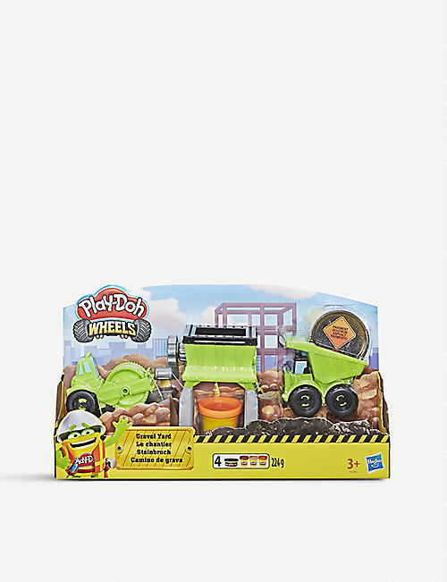 PLAYDOH Wheels Gravel Yard set