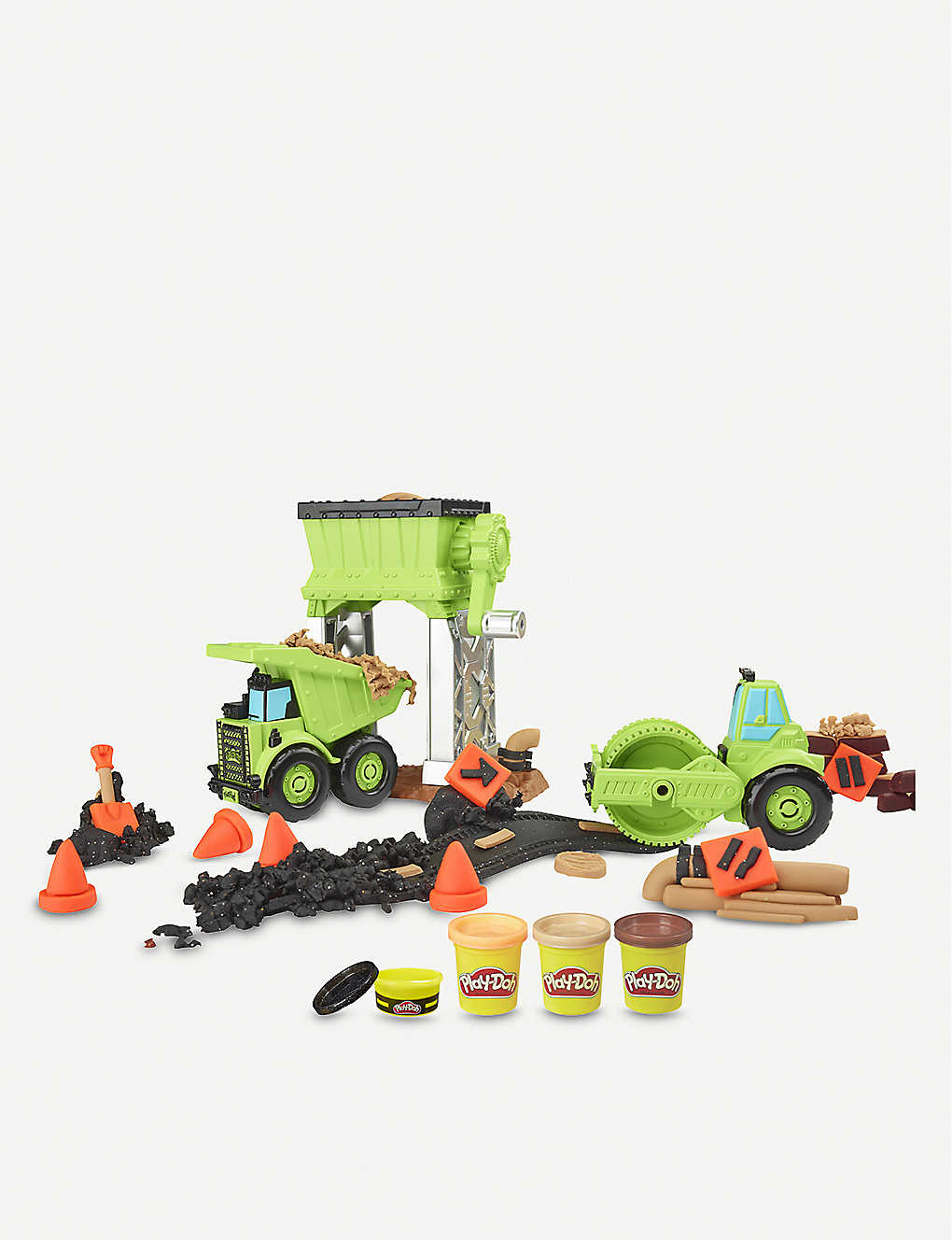 PLAYDOH: Wheels Gravel Yard set