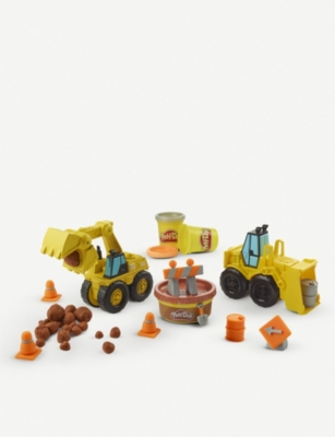 PLAYDOH Wheels Excavator and Loader set