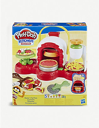 PLAYDOH: Stamp 'n Top Pizza Oven Toy