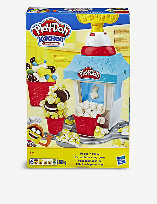 PLAYDOH Popcorn Party Play Food Set