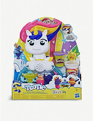 PLAYDOH: Tootie Unicorn Ice Cream Set modelling playset 3+
