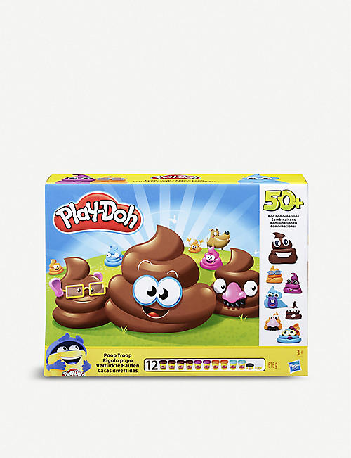 PLAYDOH Poop Troop modelling playset 3+