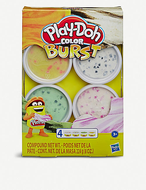 PLAYDOH Colour Burst set