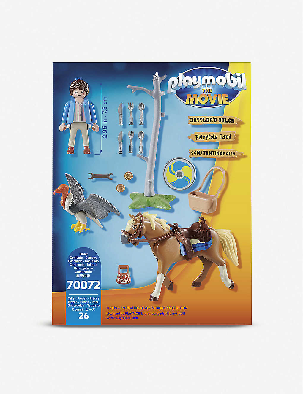 PLAYMOBIL: Marla and horse set