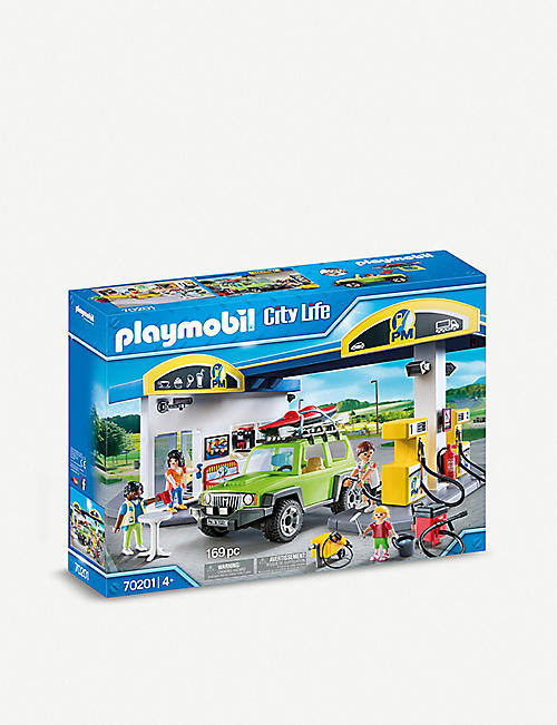 PLAYMOBIL: City Life Petrol Station playset