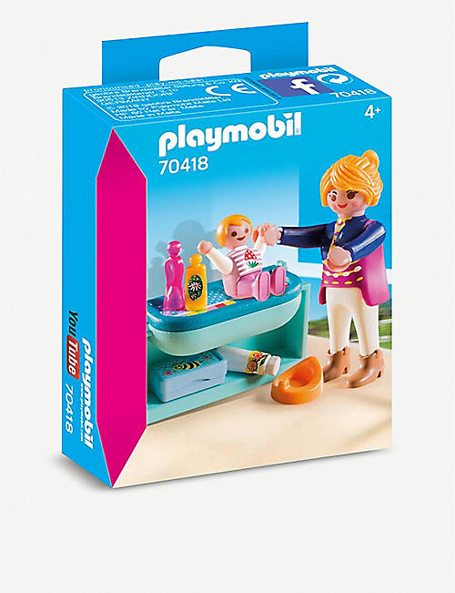 PLAYMOBIL Mother and Child Changing Table play set