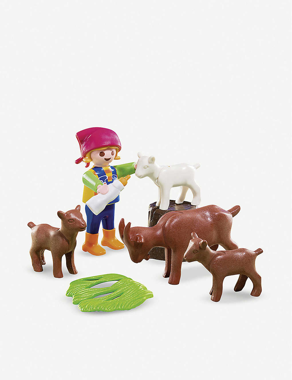 PLAYMOBIL: Girl with goats play set