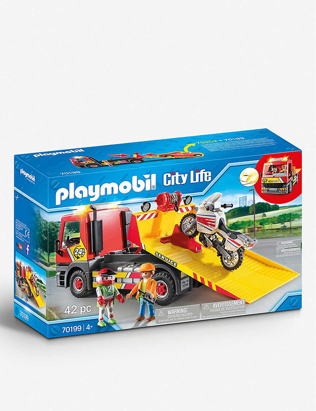 PLAYMOBIL: City Action tow truck set