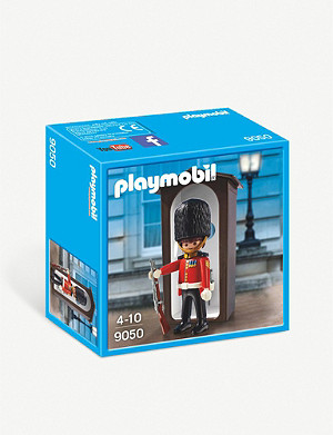 PLAYMOBIL Royal Guard and Sentry Box playset