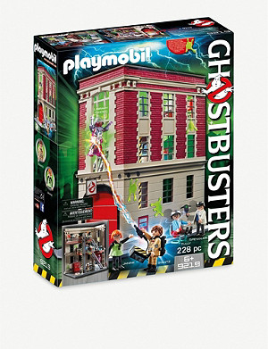 PLAYMOBIL Ghostbusters fire headquarters playset