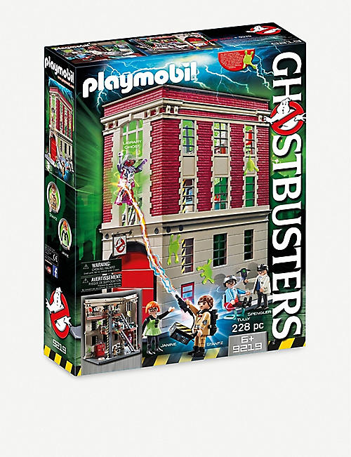 PLAYMOBIL: Ghostbusters fire headquarters playset