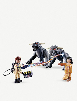 PLAYMOBIL GHOSTBUSTERS Playmobil 文卡曼和恐怖犬芭比