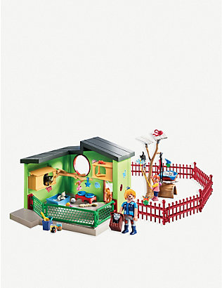 PLAYMOBIL: City Life Purfect Stay cat boarding play set