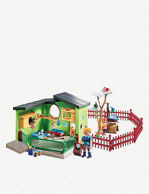 PLAYMOBIL City Life Purfect Stay cat boarding play set