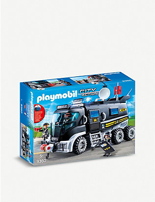 PLAYMOBIL: SWAT City Action truck playset