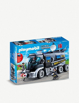 PLAYMOBIL SWAT City Action truck playset