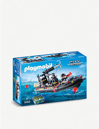 PLAYMOBIL: City Action SWAT Boat