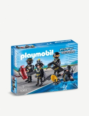 PLAYMOBIL City Action SWAT TEAM figurines playset