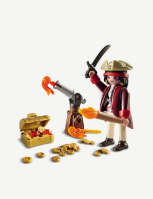 PLAYMOBIL Pirate with cannon gift egg