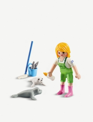 PLAYMOBIL Zookeeper Playset