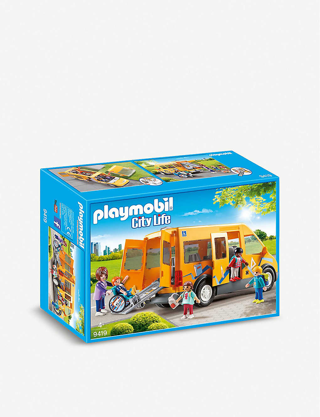 PLAYMOBIL: City Life school van play set