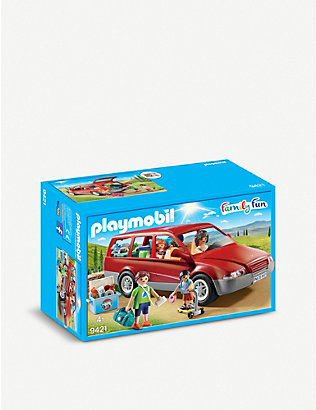 PLAYMOBIL:Family Fun Family 汽车玩具套装
