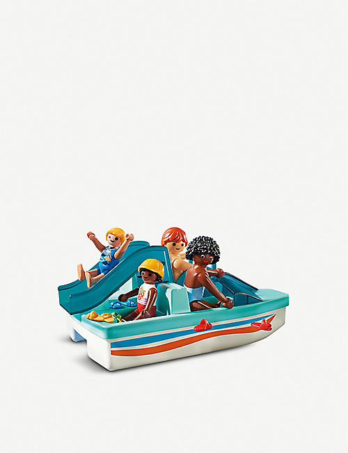 PLAYMOBIL 9424 Floating Paddle Boat set