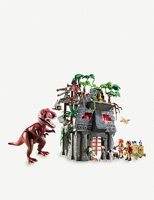 PLAYMOBIL 9429 The Explorers Hidden Temple with T-Rex