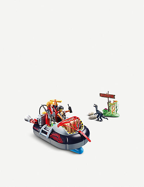 PLAYMOBIL Dino Hovercraft with Underwater Motor