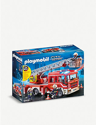 PLAYMOBIL: City Action fire ladder unit 4-10 years